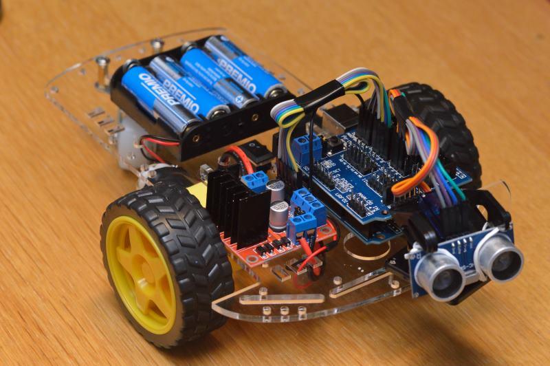 Smart car para arduino y otros robots educativos sitio