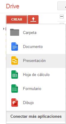 creación y edición de presentaciones con google drive sitio web de