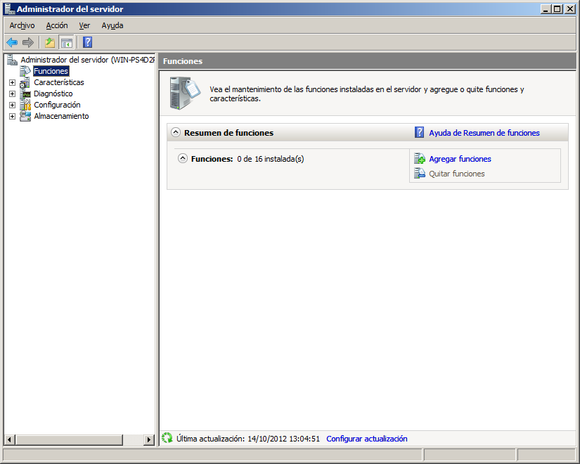 Instalación básica del servidor web IIS en Windows Server 2008 ...